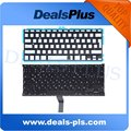"For Macbook Air 13.3"" A1466 A1369 RU Russian Keyboard with Backlit Backlight the Year of 2011 to 2014 Free Shipping"