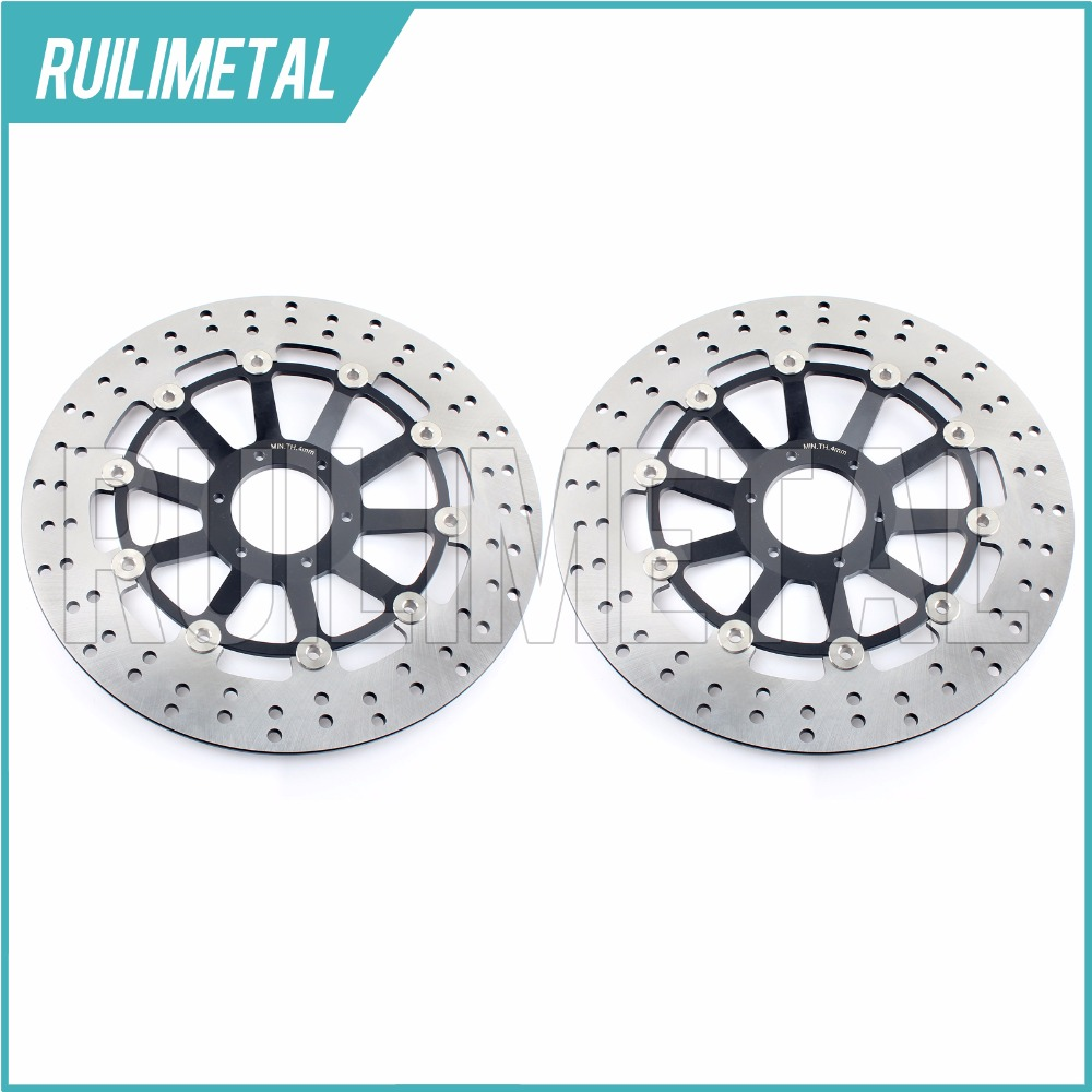 Hot Sale Pair New Front Brake Discs Disks Rotors for HONDA CBR 1100 XX Super Blackbird CB 1100 SF X-11 X-Eleven CB 1300 1284 F