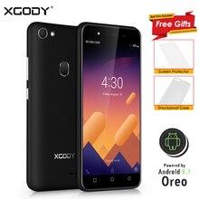 XGODY 3G débloqué Smartphone 5.0 pouces celulaire Android 8.1 Oreo téléphone portable MT6580M Quad Core 1 GB + 8 GB 2500 mAh 5.0MP téléphone portable X6