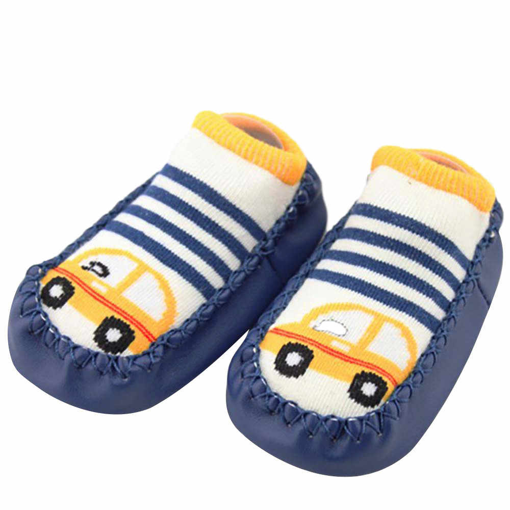 Newborn Toddler Baby Girl Boy Shoes First Walker Baby Cartoon Newborn Baby Girls Boys Anti-Slip Socks drop shipping