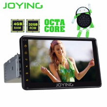 "JOYING PX5 4GB RAM 32GB ROM 1din 7"" Android 8.0 car radio stereo GPS audio Octa core HD head unit carplay Video Out Cassette BT"