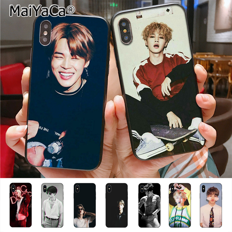 4345995e1a MaiYaCa BTS park jimin Novelty Fundas Phone Case Cover for iPhone X XS XR  XS MAX