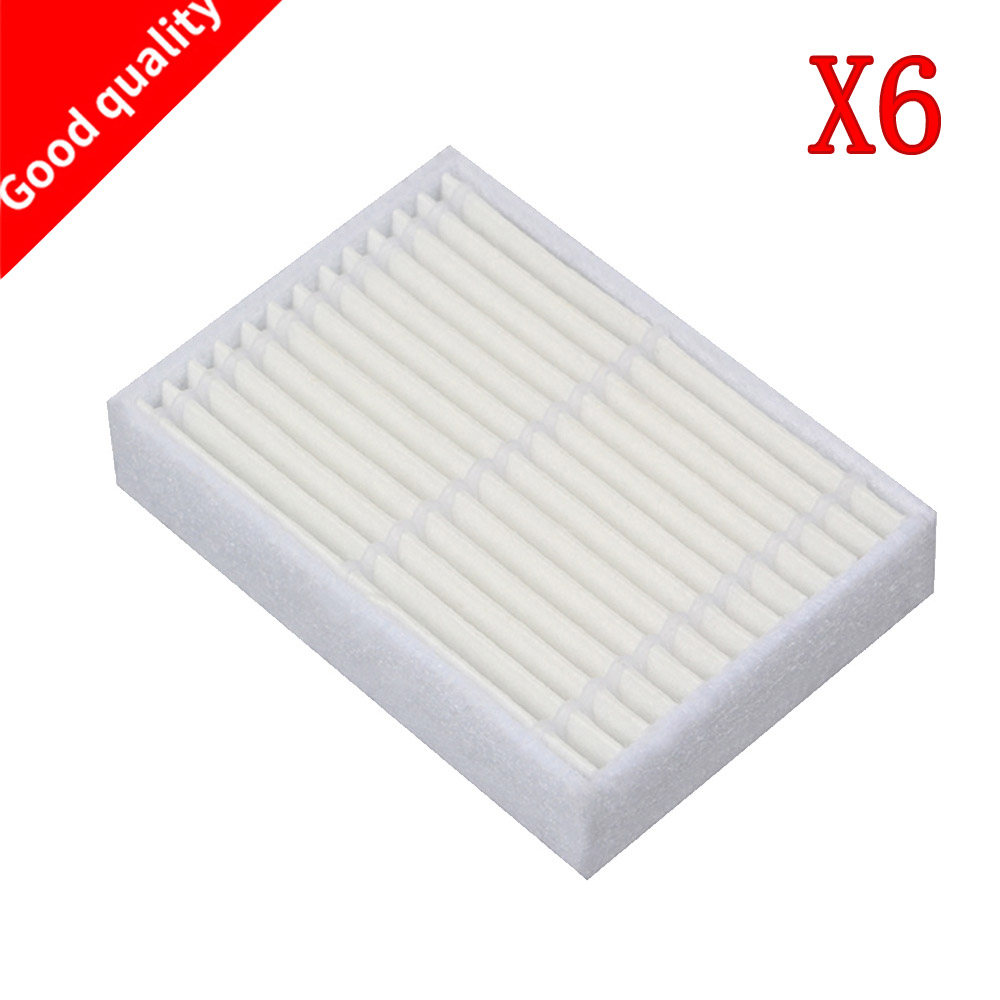 Home Appliance Parts Spirited 6pcs High Quality Replacement Hepa Filter For Panda X600 Pet Kitfort Kt504 For Robotic Robot Vacuum Cleaner Accessories Vacuum Cleaner Parts