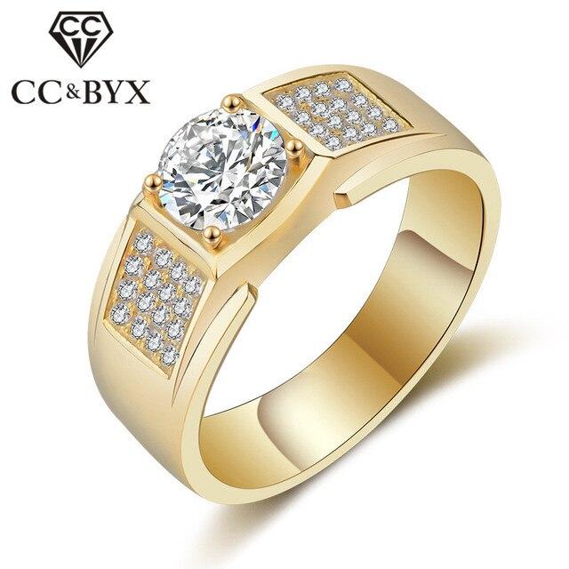 c9bb6af421de5a CC Drop Shipping w stylu Vintage pierścionki dla mężczyzn luksusowe S925  srebrny obietnica Gentleman oblubieniec ślubna