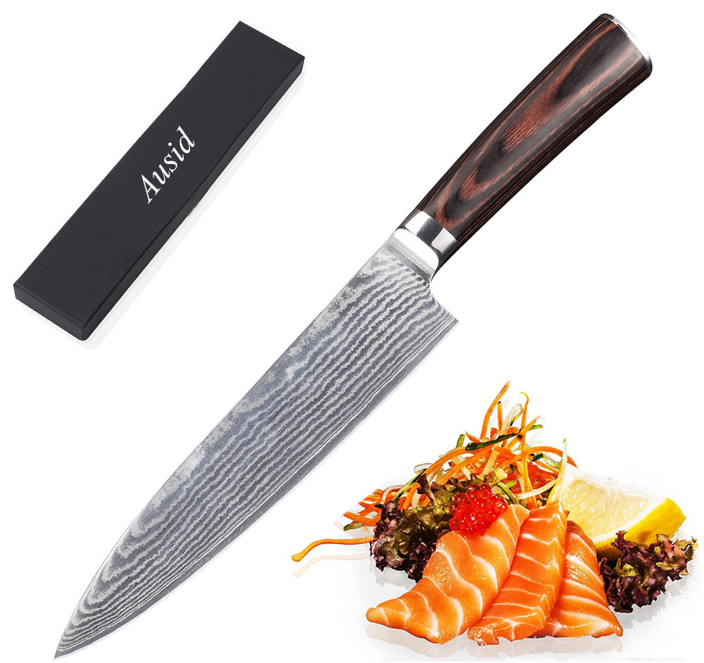 Ausid Chef Knife 8\
