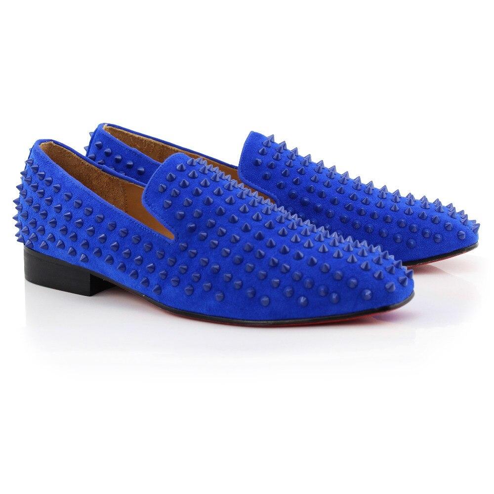 Azul Gamuza Inferiores Rojos Mocasines Tiro Conducción Cuero Cool Hombres De Zapatillas Barco Picos Fumar Moda Zapatos vfAPSPwqXY