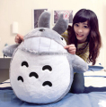 Totoro pillow Birthday Valentines Gift 45CM Famous Cartoon Totoro Plush Toys Smiling Soft Stuffed Toys