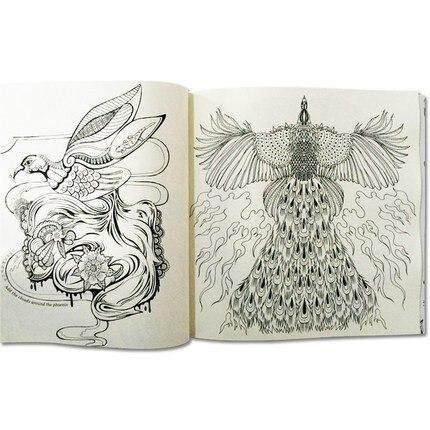 jardim magico livro de colorir para criancas