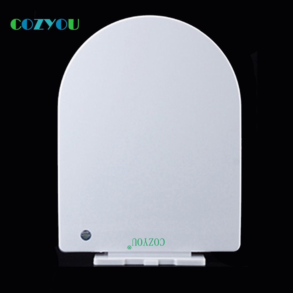 Elongated U type PP Toilet seat Slow soft Close Quick Release Easy clean length 445mm to 492mm,width 350mm to 370mm GBP17306PU