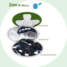 U Pick ALVA Baby 2018 Baby Cloth Diaper Reusable Cloth Nappy Snap Adjustable Pocket Diaper