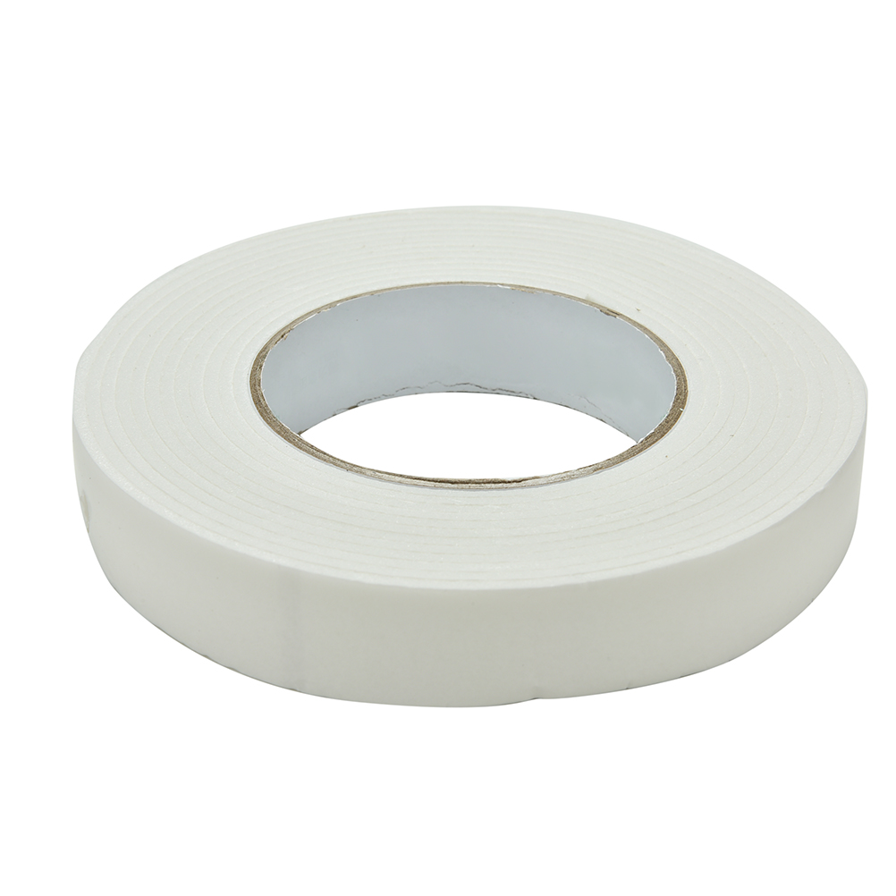 Strong Double Sided Sticky Tape Foam Adhesive Craft Padded Mounting 24mm x 5m