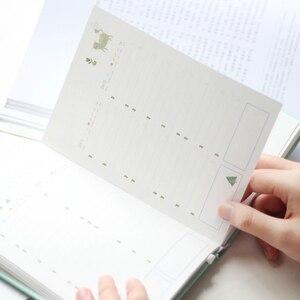 Image 5 - 365 ימים אישי יומן מתכנן כריכה קשה מחברת יומן 2021 משרד לוח זמנים שבועיים חמוד קוריאני מכתבים libretas y cuadernos