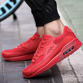 Big Size 46 Air Shoes Men Casual Mesh Breathable Sport Jogging Shoes Lovers Basket Trainers Superstar Red Bottom Zapatos Black