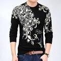 2016 Новая Мода мужской Свитер Осень Пуловеры Повседневная Зрелые Свитер Для Человека Моделей Бренда Пуловеры
