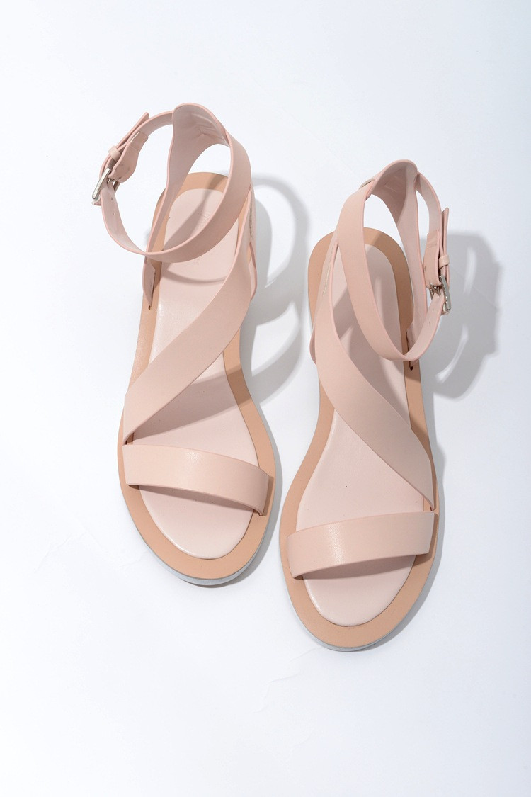 Nude Sandals Flat
