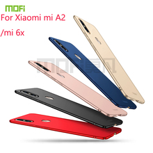 купить For Xiaomi mi A2 Case MOFI Fitted Cases PC Hard Case For Xiaomi mi A2/Xiaomi mi 6x Cover Phone Shell Ultra thin For xiaomi a2 дешево