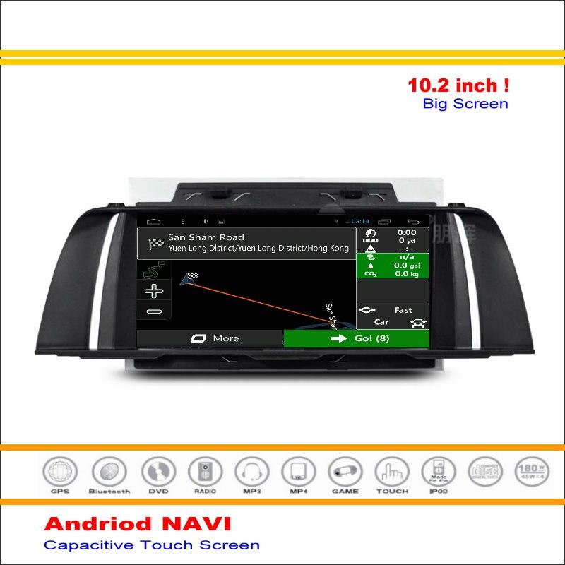 Coche Android Sistema de Navegación GPS de NAVEGACIÓN NAVI Para BMW F10 2013 ~