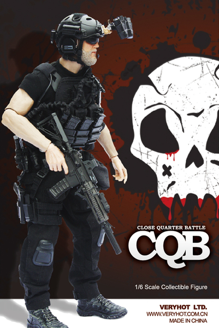 VH 1048 1 6 NAVY SEAL CQB NIGHT Set for 12inch Phicen Hottoys Damtoys  Action Figure DIY b8e680818070