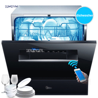 WQP8 W3908T CN intelligent WIFI Automatic Dish Washer Machine Sterilization Drying Saving Energy and Water Washdisher Embedded