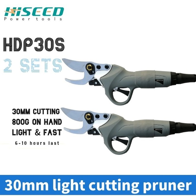 36V lithium battery electric pruning shears Working time 6-8 hours Picking fruit scissors Gardening tools