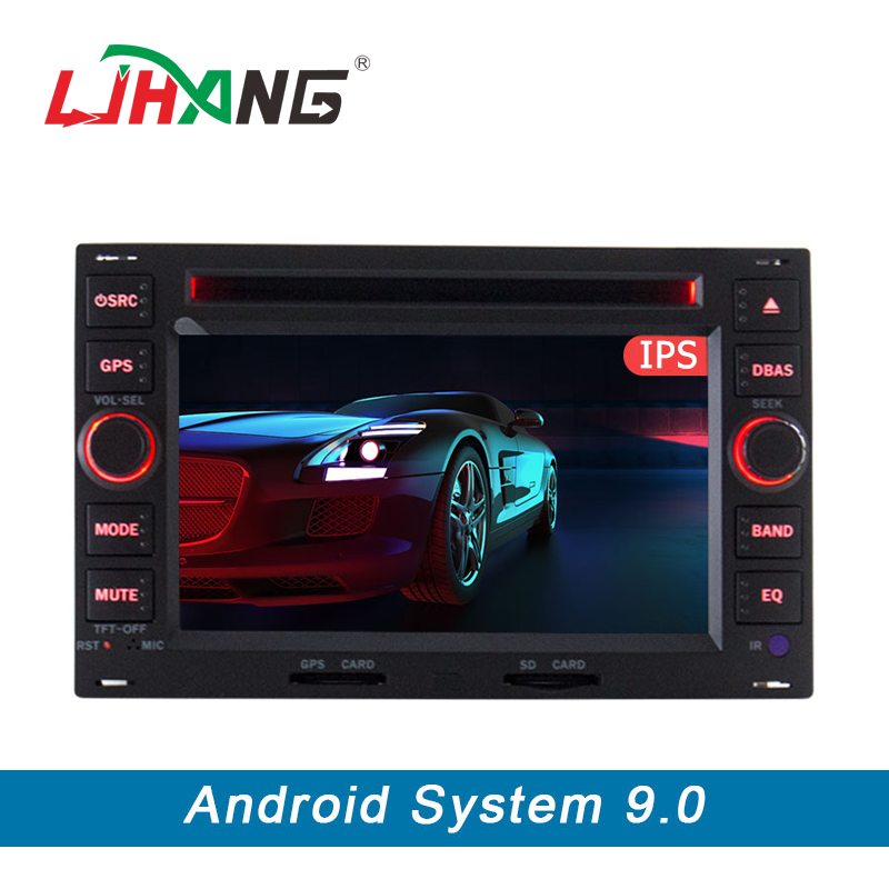 LJHANG 2 Din Android 9 0 Car DVD Player For VW Volkswagen GOLF POLO TRANSPORTER Passat