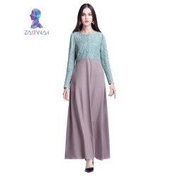 Muslim women long sleeve lace dubai dress maxi abaya jalabiya islamic dress robe kaftan clothing turkey.jpg 250x250