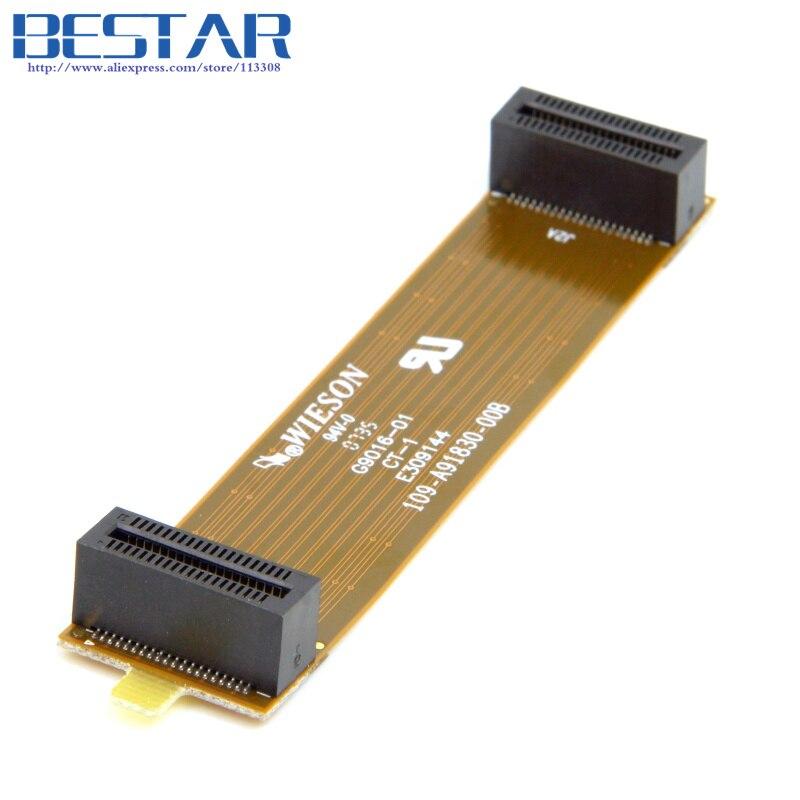 (100 pieces/lot) For XFX ATI Asus Crossfire Interconnect Bridge Flex 100mm PCI-E 40pin Female to Female Cable 6111024000G