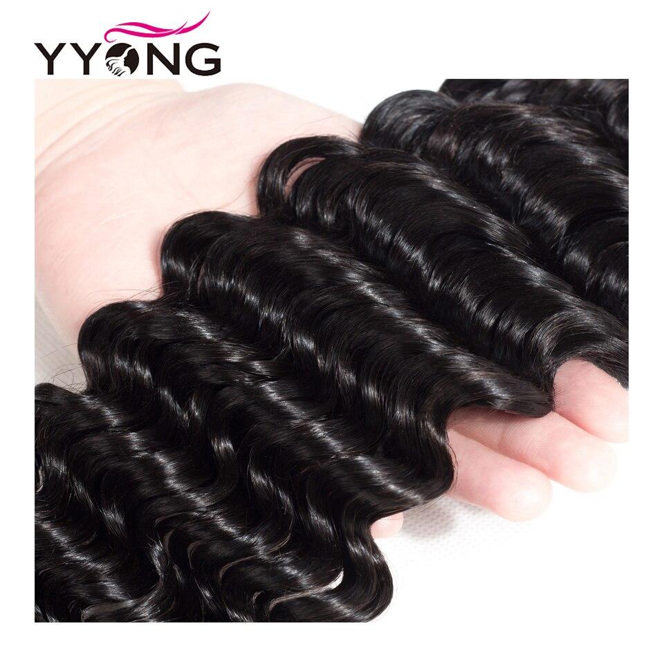 Yyong  Deep Wave Hair Bundles 3 Or 4 Bundle Deal 100%   Bundle Deep Wave 8-30Inch  Hair  5
