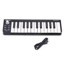 WORLDE Easykey 25 Keyboard Mini 25-Key USB MIDI Controller With Cable Electric Digital Piano Organ Musical Instrument