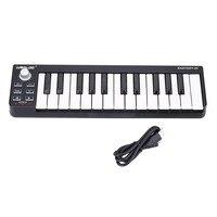 WORLDE Easykey 25 Keyboard Mini 25 Key USB MIDI Controller With Cable Electric Digital Piano Organ Musical Instrument