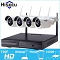 720 P 4ch Sistema de CCTV Sem Fio wifi Câmera IP NVR NVR Sem Fio Poderoso Bala Câmera de CCTV Home Security Sistema de Vigilância Kit