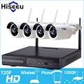 720 P Wireless CCTV Sistema de $ number canales NVR wifi Sin Hilos de Gran Alcance NVR IP Cámara Bala Cámara CCTV Seguridad Para El Hogar Sistema de Vigilancia Kit