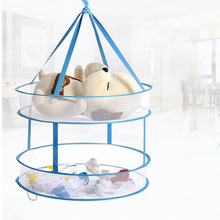 Foldable Underwear Mesh Basket Folding Lingerie Drying Hang Basket for Airing Bra Net Laundry Clothes Storage Product