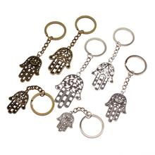 Hot Sale New Keychain For Car Metal Hamasa Hand Christian Keychains High Quality Handmade Gift Women