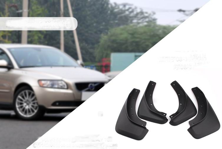 4pcs/lots Auto Mud Flap Guard Car Wheel Splash Guards Fender For VOLVO S40  YT 7DY12d9|splash guard|auto mud flaps|mud flaps - title=