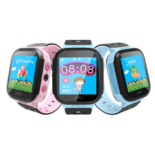 Waterproof Kids Smart Watch SOS Antil-lost Smartwatch Baby 2G SIM Card Clock Call Location Tracker PK Q50 Q90 Q528.