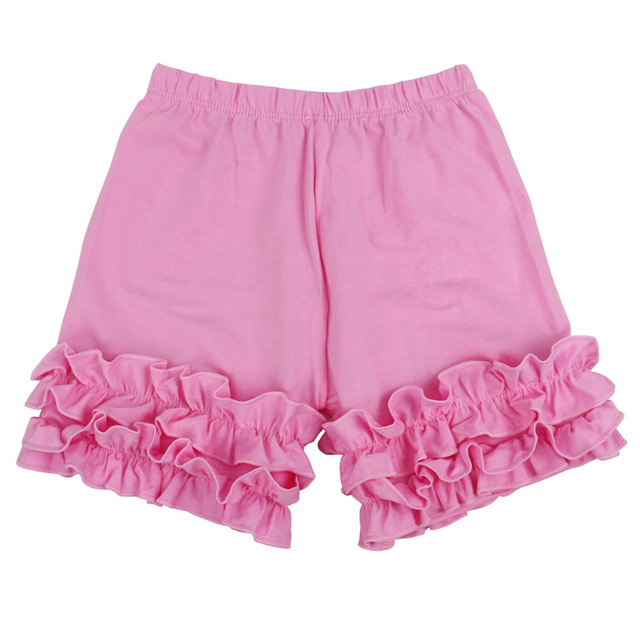 Baby Cotton Ruffle Baby Shorts Toddler Girls Shorts Kids Knit Icing Baby Girl Shorts Children spring Summer Clothes Shorties