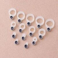 14 sztuk wędka pierścień z drutu silikonowa żyłka pierścień prowadzący inny rozmiar 1 14 akcesoria wędkarskie w Wędki od Sport i rozrywka na