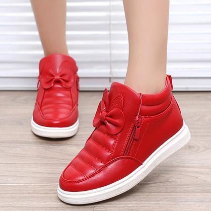 купить Kids Shoes Spring Girls PU Leather Sneaker Boy Flats Children Shoes Waterproof Boots Kids Girls Sneakers For Girls Trainers 838d по цене 926.13 рублей