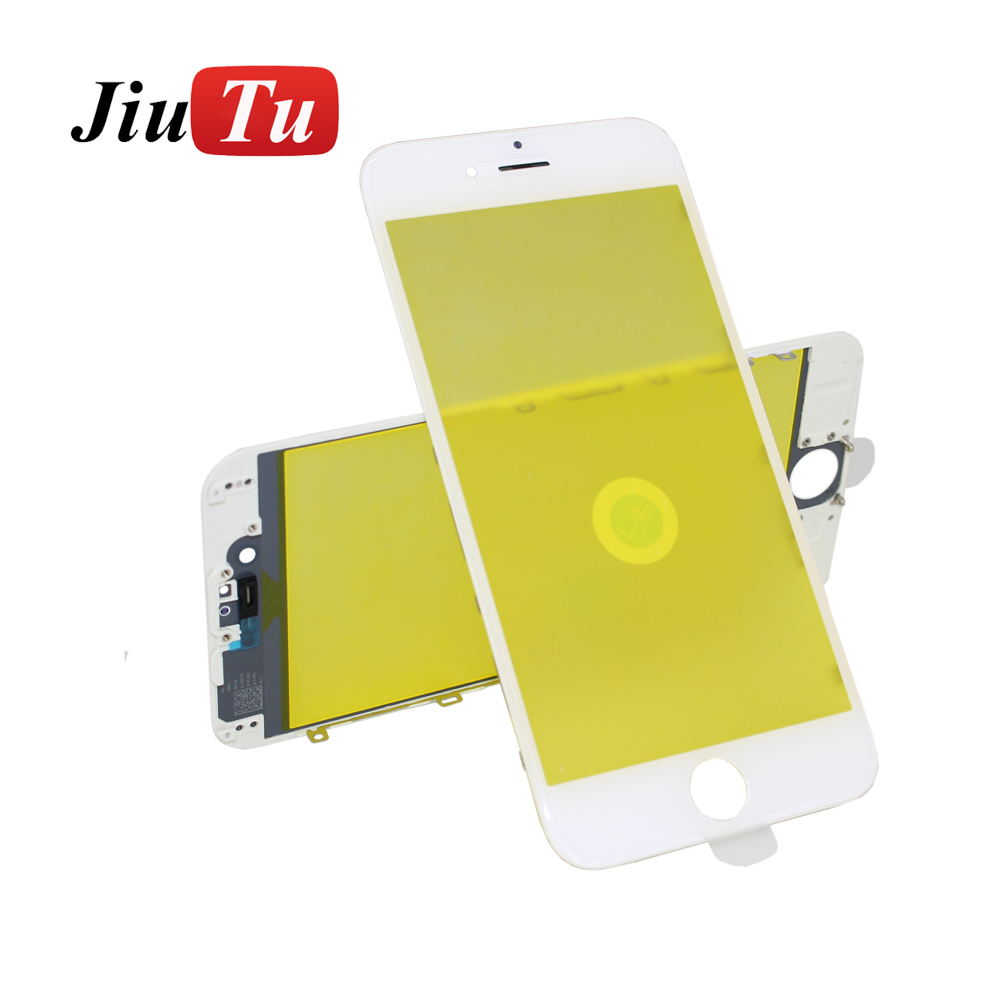 Jiutu 10pcslot Glass With Bezel Frame Cold Press For iPhone 6G6 Plus 6S6S Plus (6)