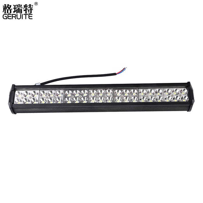 2017 126W led bar offroad Car Led Light Bar Work Driving Boat Car Truck Led Light Spot Flood Combo led lightbars 4X4 4WD ATV 1pc 4d led light bar car styling 27w offroad spot flood combo beam 24v driving work lamp for truck suv atv 4x4 4wd round square