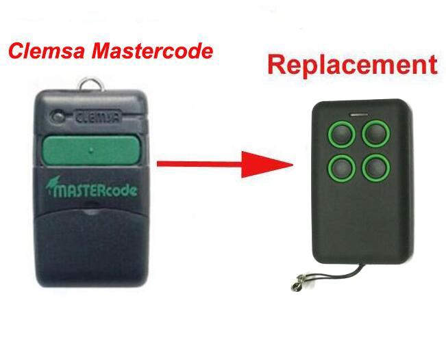 Новый Сменный пульт дистанционного управления Clemsa Mastercode MV1 для клонирования 433 МГц, бесплатная доставка