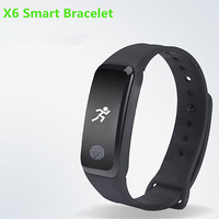 Smart Bracelet X6 Smart Wristband Passometer Fitness Call Reminder IP67 Waterproof Smart band For Android iOS