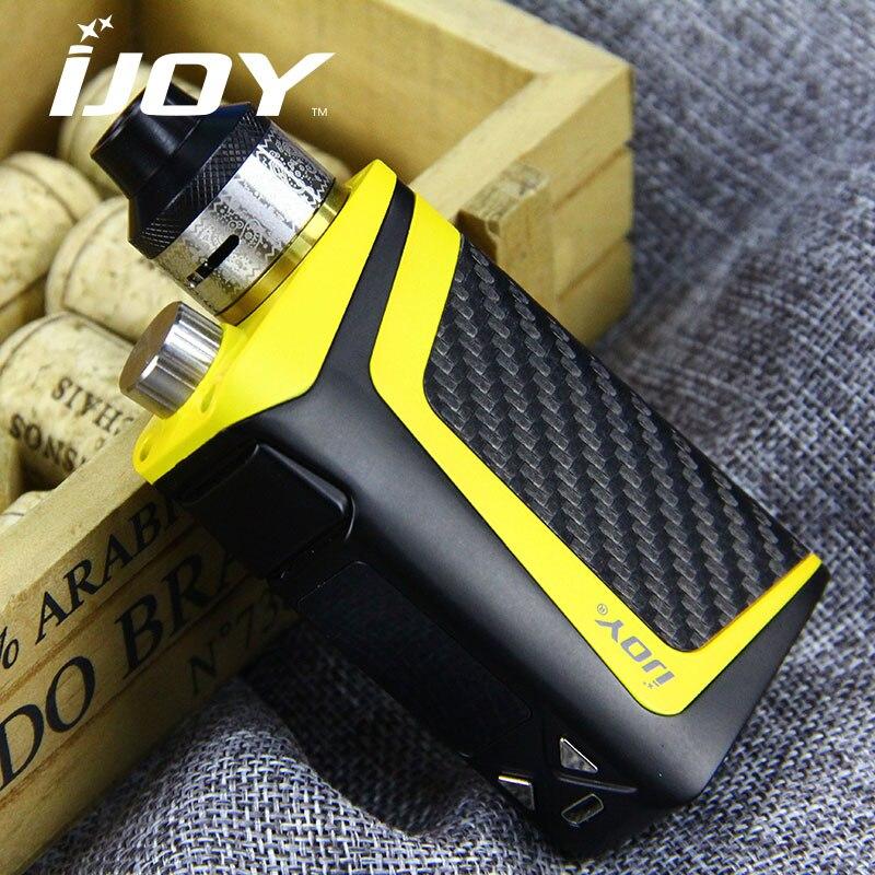 IJOY RDTA boîte Mini Kit complet 100 W 2600 mAh batterie intégrée 6 ml avec cadeaux gratuits Vapeonly étui de transport en cuir e-cigs Vape - 2