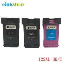 цены на einkshop 122xl Remanufactured Ink Cartridge Replacement For HP 122 xl Deskjet 1000 1050 1510 2050 1050A 2000 2050A 2540 3000  в интернет-магазинах