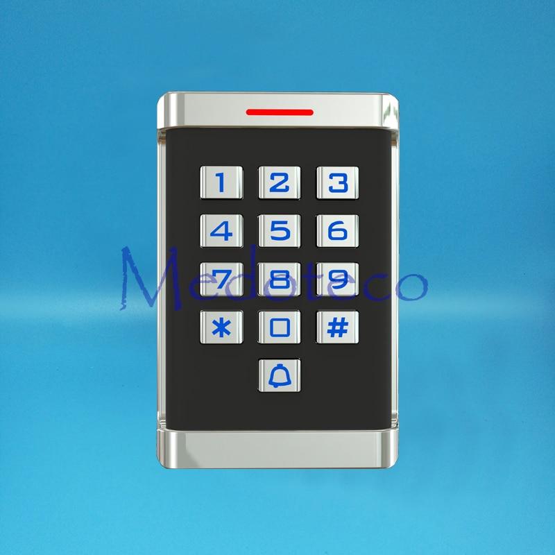 IP68 Waterproof Metal Keypad Proximity Card Door Access Control System Metal Access Control Door Opener Real Metal keypad turck proximity switch bi2 g12sk an6x