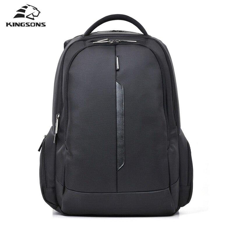 Kingsons Brand Shockproof Laptop Backpack Nylon Waterproof Men Computer Notebook Bag 15.6 inch Women School Bags KS3027W