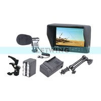 FEELWORLD FW7D 7 High Definition On Camera Monitor NP F970 Battery Charger 11 Magic Arm Super