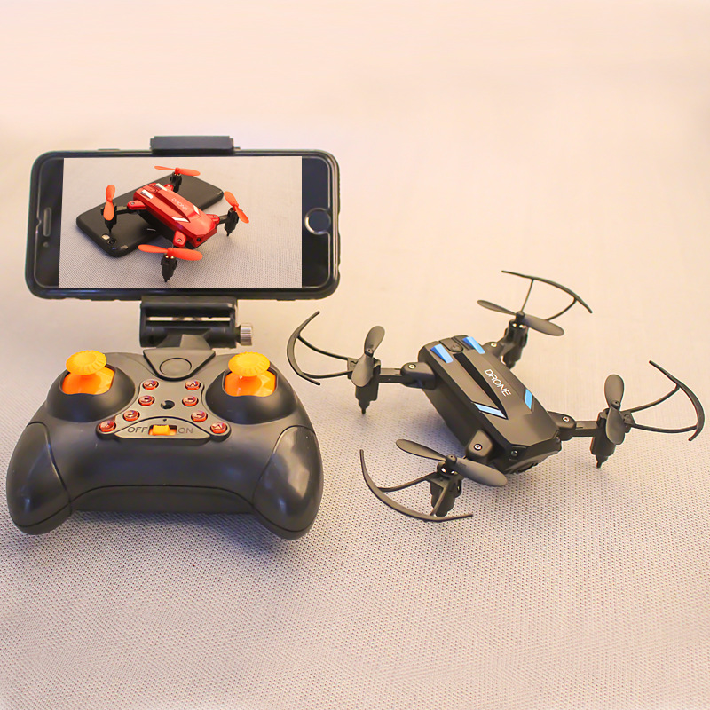 Mini-UAV RC toy Four-Axis Vehicle RC aircraft with HD camera Remote control aircraft Intellient toy aircraft model Children boy