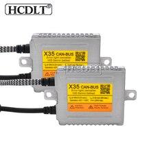 HCDLT оригинальный ДЛТ X35 35 W Canbus спрятанный балласт фар AC 12 V ксенон быстрого розжигания Canbus HID балласт для 35 W автомобиль свет ксенона